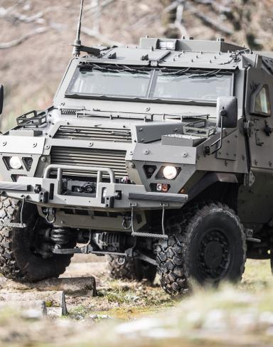 Fortress Combat Proven Apc High Mobility Armored Vehicle